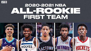 NBA/年度最佳新秀陣容 小鮑爾、愛德華領軍