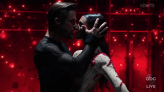 DWTS : Derek Hough and Girlfriend Hayley Erbert Return to Dance Floor to Perform Fiery Routine