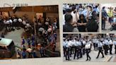 【反抗兩年】612 香港成「警察城市」 重兵截查、限聚令驅散街站 闖朗豪坊拘 1 男子 稱其高聲叫囂   立場報道   立場新聞