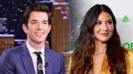 John Mulaney announces that girlfriend Olivia Munn is pregnant on 'Late Night'