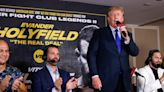 Opinion: Former President Donald Trump (mostly) sticks to sports while providing boxing commentary