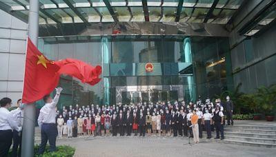外交部駐港公署促西方停止以「民主劇本」欺世盜名插手港事