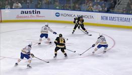 Charlie Coyle with a Goal vs. Buffalo Sabres