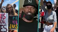 Jamie Foxx, Paris Jackson, Emily Ratajkowski & More Stars Join George Floyd Protests