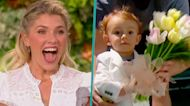 Amanda Kloots' 1-Year-Old Son Elvis Makes TV Debut On 'The Talk' In Honor Of Mother's Day