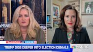 """Gov. Whitmer: """"The rhetoric of 2020 is driven by the White House"""""""