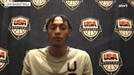 Immanuel Quickley on Kevin Durant, playing on USA Men's Select Team | USA Basketball News Conference