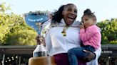 Serena Williams and Daughter Olympia Pose In Matching Swimsuits