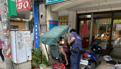 電動代步車故障 八德警協助身障人士返家 | 台灣好新聞 TaiwanHot.net