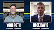Pac-12 Networks' Yogi Roth catches up with ESPN College GameDay anchor Rece Davis ahead of Saturday's matchup between No. 10 Oregon and UCLA