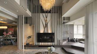 融合多元風格樓中樓 實現一家三口新古典品味私宅