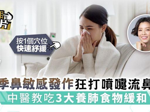 Sick問識答︳轉季鼻敏感發作狂打噴嚏流鼻水 中醫教吃3大養肺食物緩和 - 晴報 - 健康 - 呼吸道疾病