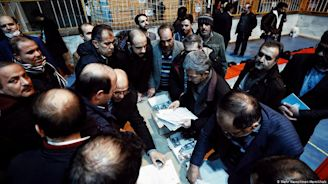 Iran elections: Polls close, hardliners set for victory | DW | 21.02.2020
