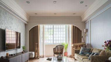 40坪老屋翻新重塑異國風情,絢爛色彩點亮美式風宅
