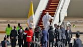 Pope Francis departs Iraq after wrapping up historic four-day visit