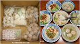 580元爽嗑1週!60年老攤「防疫箱」有5款純手工小吃,先嘗油蔥酥意麵、溫體豬餛飩