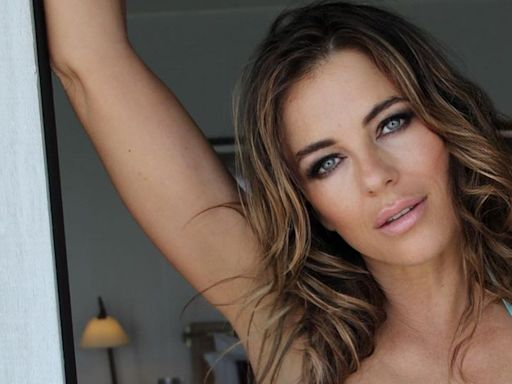 Elizabeth Hurley Is All Toned Abs And Legs In Her Latest Bikini Pic
