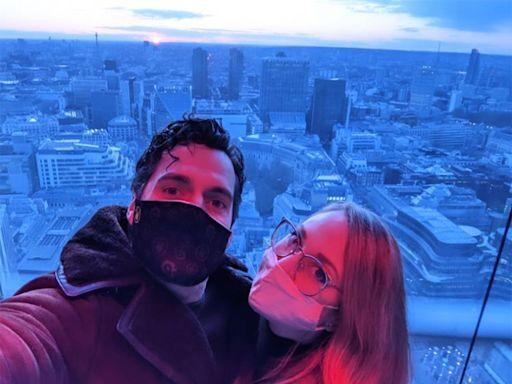 Henry Cavill's Girlfriend Natalie Viscuso Shares Rare Couple Photo to Celebrate 'Birthday Boy'