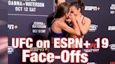 UFC on ESPN+ 19 face-offs: Joanna Jedrzejczyk and Michelle Waterson butt heads