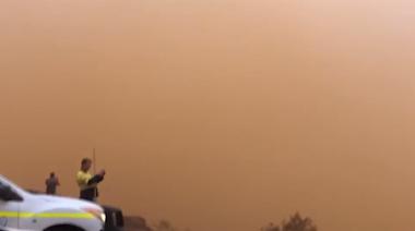 Storm Shrouds Western Australia Town in Dust