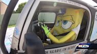 Why you might be seeing SpongeBob SquarePants driving around Louisville