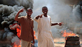 Sudan army seized power to prevent civil war - coup leader