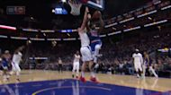 Draymond Green with an and one vs the LA Clippers
