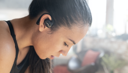 RS Recommends: The Best Earbuds With Ear Hooks (So They Won't Fall Out of Your Ears)