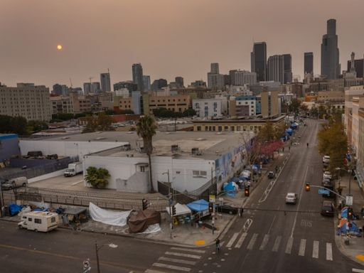 Smoky L.A. skies are from wildfires to the north, officials say