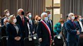 """Libertad de enseñanza, nueva Constitución y """"minorías"""": los temas que marcaron el último Tedeum evangélico de Piñera como Presidente - La Tercera"""