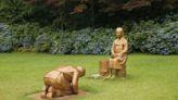 韓國銅像疑似影射安倍跪慰安婦 日本:衝擊兩國關係