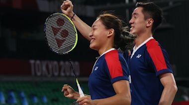 東京奧運 「鄧謝配」羽球混雙失落奬牌 恒基向二人送125萬獎金