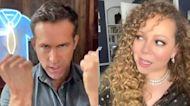 Mariah Carey Gives Ryan Reynolds Major Side Eye as They Duet 'Fantasy' on TikTok