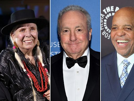 Joni Mitchell, Berry Gordy, Lorne Michaels to Receive Kennedy Center Honors