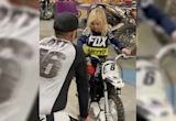 See Pink and Carey Hart's Son Jameson, 3, Riding Motorcycle