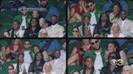 Ben Simmons Seen At Wimbledon With British TV And Radio Host Maya Jama