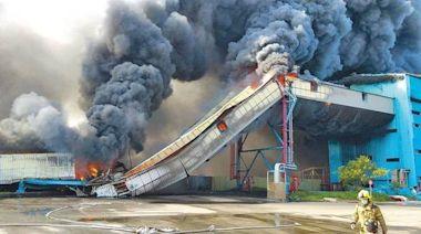 中火火災 輸送設施遭勒令停工