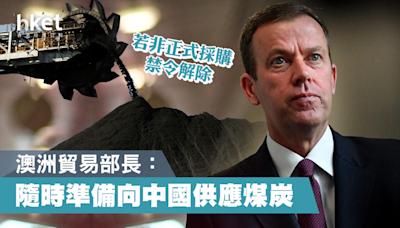 澳洲貿易部長:澳洲隨時準備向中國供應煤炭 - 香港經濟日報 - 中國頻道 - 國情動向
