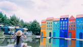 【宜蘭冬山】伊格魯童話森林。2020年新景點,打造宜蘭的小北歐莊園,丹麥新港彩色屋、極光冰屋,還有露營車