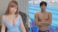 影/台灣「蝶王」王冠閎潛力無窮?前泳將女星點出這關鍵