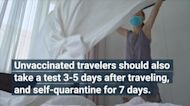 CDC Recommends Unvaccinated Americans Avoid Domestic Travel Ahead of Holiday Season
