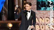 Andrew Burnap Wins Best Leading Actor In A Play | 2021 Tony Awards | Paramount+