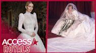 Princess Diana's Niece Kitty Spencer's Wedding Dress Has Jaw-Dropping Royal Similarities To Her Dress!