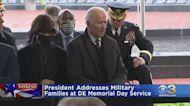 President Joe Biden Addresses Military Families At Delaware Memorial Day Service