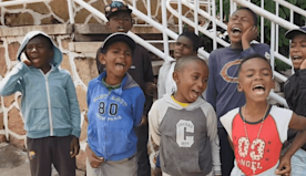 Boys Form Singing Group on Streets of Madagascar's Capital City