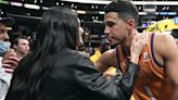 Kendall Jenner and Devin Booker Show First-Ever PDA with Congratulatory Kiss