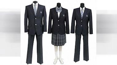 打破性別界限|日本中學試推男女校服混搭 男生可戴蝴蝶結穿裙子 | 蘋果日報