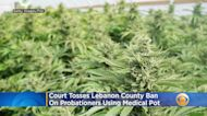 Court Tosses Lebanon County Ban On Probationers Using Medical Pot