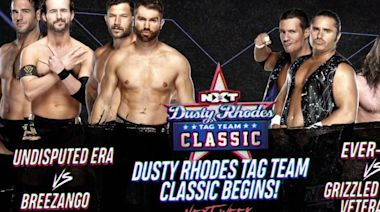 Fandango talks Dusty Rhodes and Tag Team Classic which opens Wednesday on 'NXT' on USA