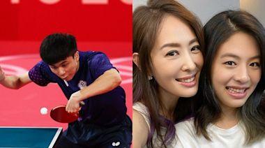 賈永婕女兒國小是桌球校隊!喜問「比賽遇過林昀儒?」答案傻眼了